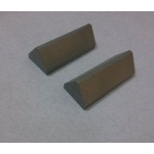 Customized Triangular Tips of Tungsten Carbide
